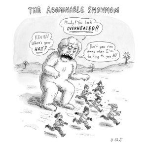 roz-chast-a-giant-snowman-in-the-shape-of-a-mom-shouts-at-children-who-are-running-a-new-yorker-cartoon